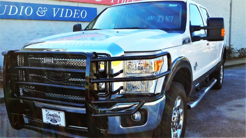 Ford Dealership Franklin >> LINE-X Spray-in Bedliner and Ranch Hand Upgrades for F250