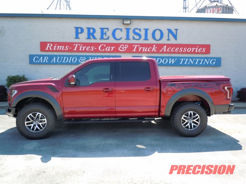 Brainbridge Client Adds Ford Raptor Window Tint And Bed Cover