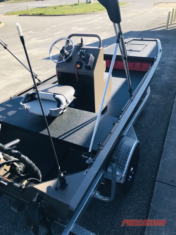 Florida Dep Gets Pro Drive Sbx Series Boat Coated With Line